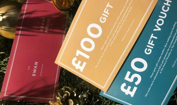 coloured gift vouchers
